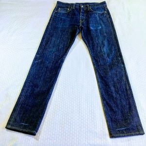 J Crew 770 Straight Fit Selvedge Jeans in Fairfax